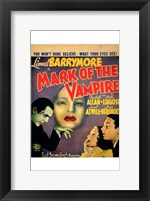 Framed Mark of the Vampire - You won't dare believe