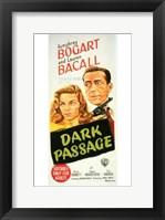 Framed Dark Passage - tall