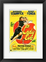 Framed Lady Eve