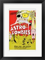 Framed Astro-Zombies