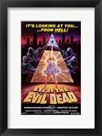 Framed Eye of the Evil Dead
