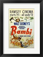 Framed Bambi A Great Love Story