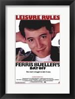 Framed Ferris Bueller's Day Off