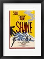Framed Shane, Shane, Shane