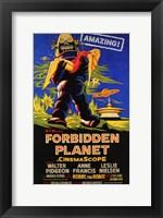 Framed Forbidden Planet - style C