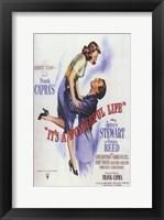 Framed It's a Wonderful Life Frank Capra - square