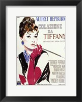 Framed Breakfast At Tiffany's (italian)