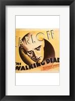 Framed Walking Dead Karloff