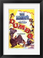 Framed Dumbo Drawing