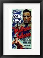 Framed Maltese Falcon