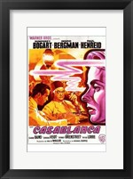 Framed Casablanca Warner Brothers