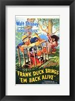 Framed Frank Duck Brings 'Em Back Alive