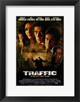 Framed Traffic - faces