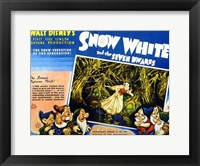 Framed Snow White and the Seven Dwarfs Screen's Supreme Thrill