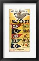 Framed Dumbo D-U-M-B-O