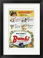 Framed Bambi Scenes