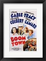 Framed Boom Town