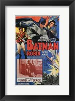 Framed Batman and Robin Tunnel of Terror