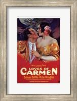 Framed Loves of Carmen
