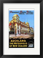 Framed Auckland  the Metropolis of New Zealand