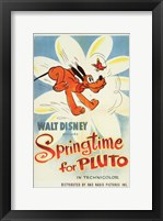 Framed Springtime for Pluto
