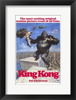Framed King Kong for Christmas