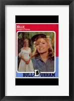 Bull Durham - Millie Framed Print