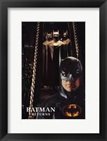 Framed Batman Returns Bat Suits