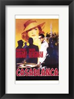 Framed Casablanca Roulette Table