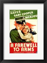 Framed Farewell to Arms