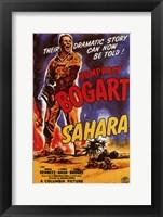 Framed Sahara Humphrey Bogart