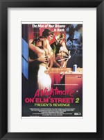 Framed Nightmare on Elm Street 2: Freddy's Reve