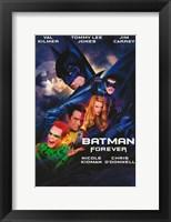 Framed Batman Forever Cast