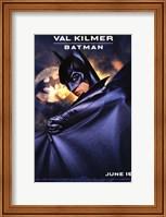 Framed Batman Forever Val Kilmer