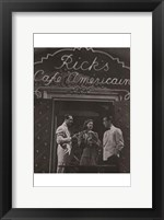 Framed Casablanca Black and White