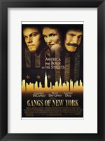 Framed Gangs of New York