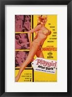 Framed Playgirl After Dark Jayne Mansfield