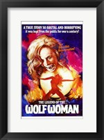 Framed Legend of Wolf Woman