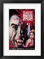Framed Taste the Blood of Dracula