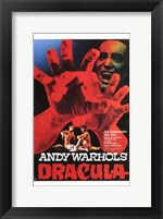 Framed Andy Warhol's Young Dracula Movie