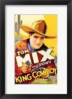 Framed King Cowboy