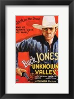 Framed Unknown Valley Cowboy