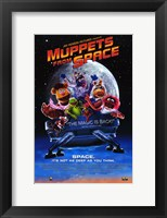 Framed Muppets from Space