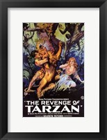 Framed Revenge of Tarzan, c.1920 - style A