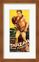 Framed Tarzan the Fearless, c.1933 - Buster Crabbe