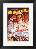 Framed Wee Willie Winkie