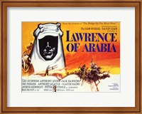 Framed Lawrence of Arabia Horizontal