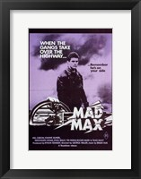 Framed Mad Max Purple