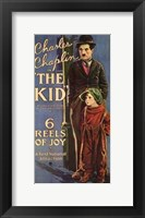 Framed Kid Charles Chaplin