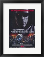 Framed Terminator 3: Rise of the Machines